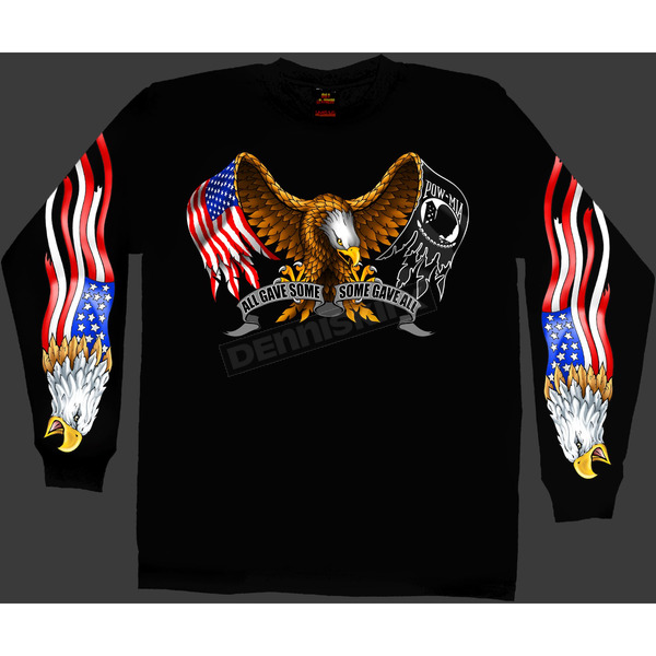 Hot Leathers Some Gave All Long Sleeve T-Shirt - GMS2024M