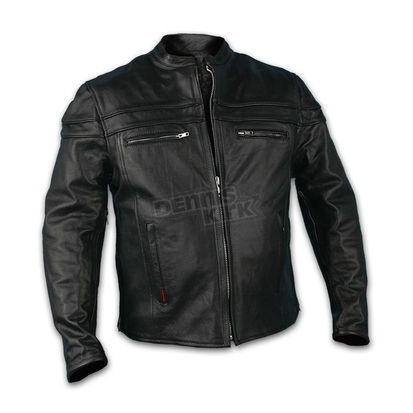 Hot Leathers Double Piping Jacket - JKM1011XXL