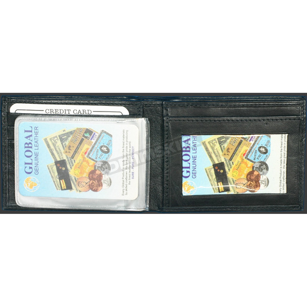 Hot Leathers Leather Bi-Fold Wallet - WLD1005