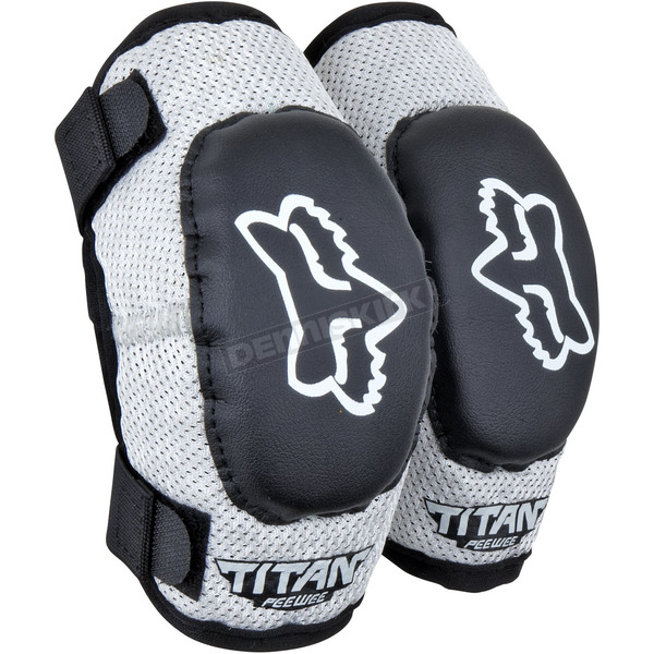 Fox PeeWee Titan Elbow Guards - 08038-464-OS