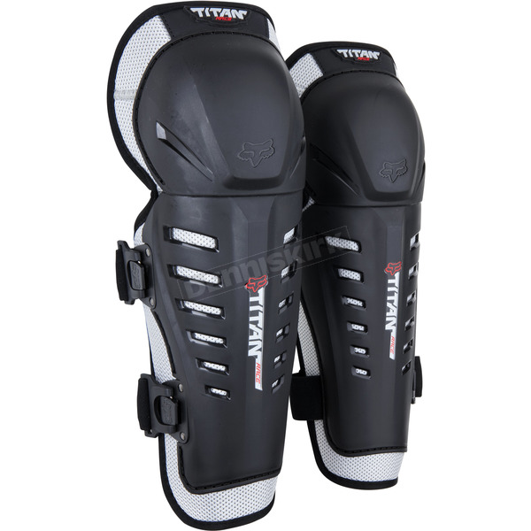 Fox Kids Titan Race Knee Guards - 08062-464