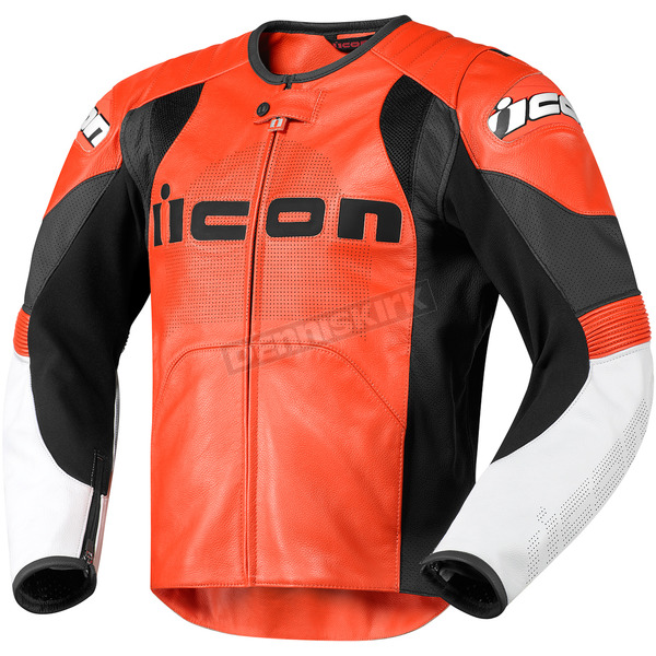 Icon Orange Overlord Prime Leather Jacket - 2810-1944