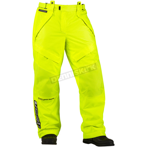 Icon Mil-Spec Yellow Patrol Waterproof Overpant - 2855-0080
