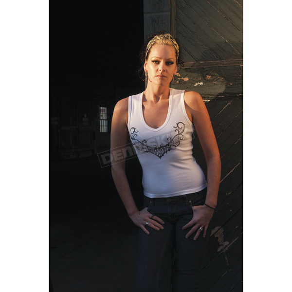 Easyriders Roadware Women's Wicked Web Tank - 1051XXL