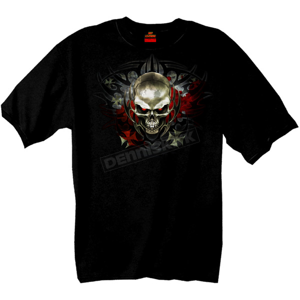 Hot Leathers Tribal Skull T-Shirt - GMS1010XXL