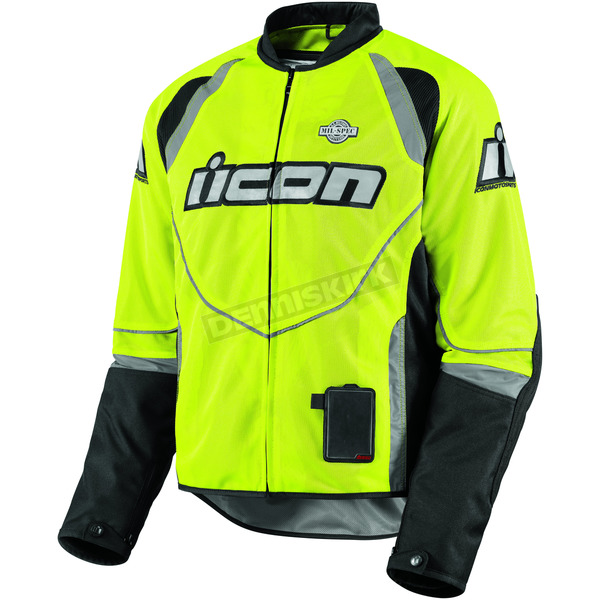 Icon Mil-Spec Yellow Hooligan2 Jacket - 28201990