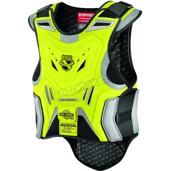 Icon Mil-Spec Yellow Stryker Vest - 2701-0515