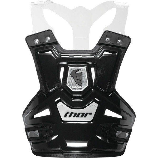 Thor Youth Black Sentinel Pro Roost Deflector - 2701-0523