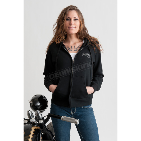 Easyriders Roadware Womens Stone Cold Zip Hoody - 3186XXL