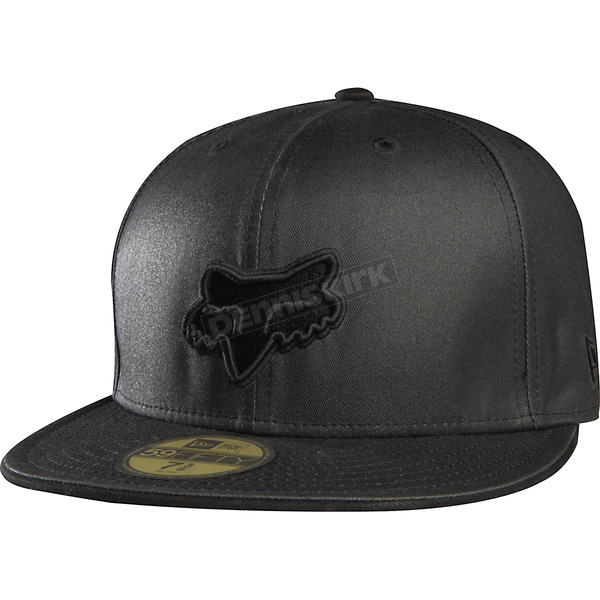 Fox Black Prime Fitted Hat - 68102-001