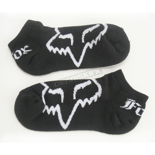 Fox Black Core Socks - 57483-001-S/M