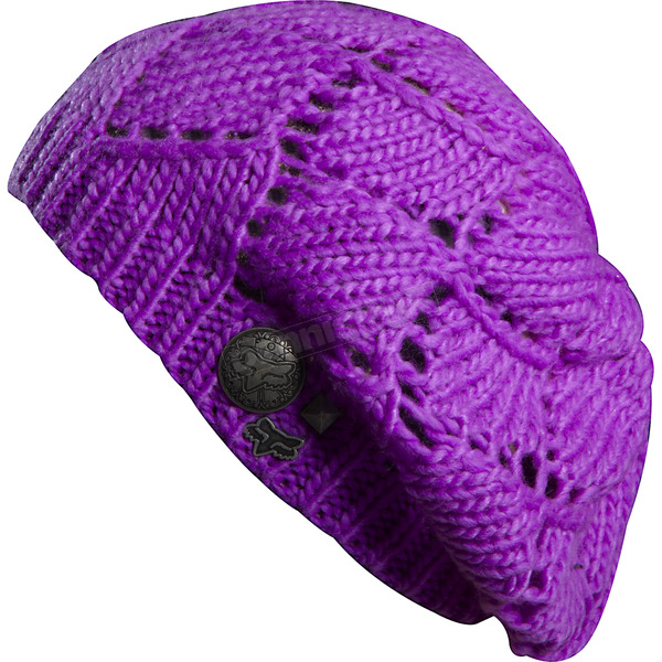Fox Womens Purple Reggae Beats Beanie - 68053-053