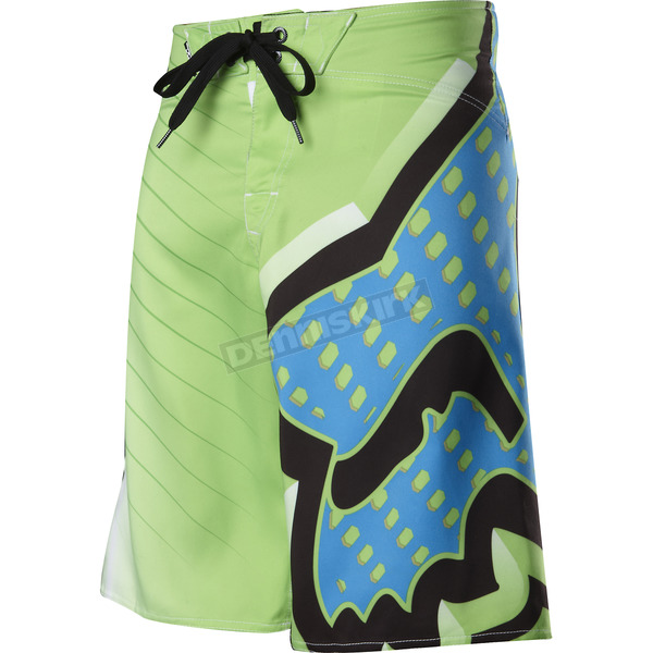 Fox Youth Green Delerium Boardshorts - 41018-004