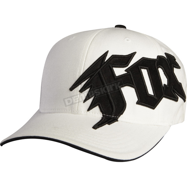 Fox Youth White New Generation Hat - 58403-008-OS