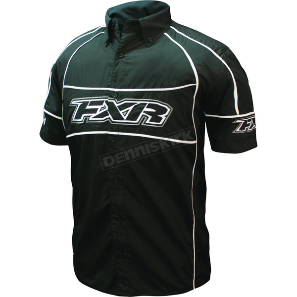 FXR Racing Black Pit Shirt - 2615.10022