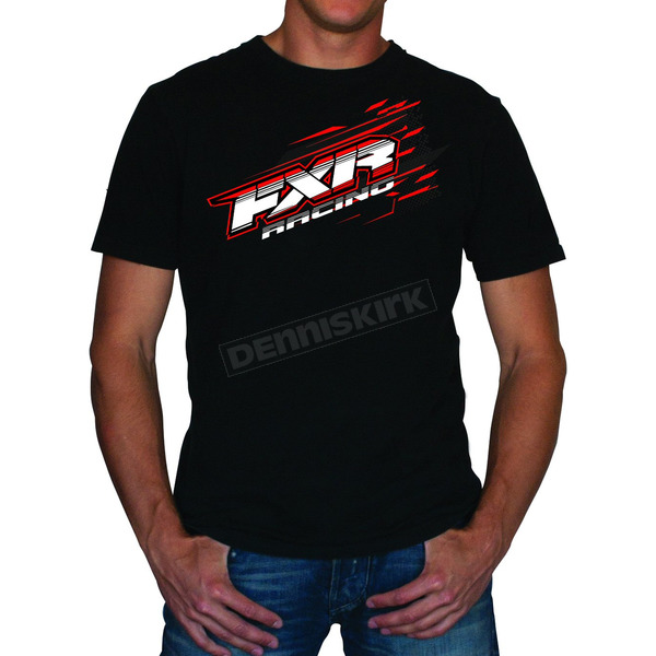 FXR Racing Black/Red Blast T-Shirt - 2619