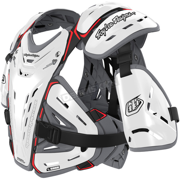 Troy Lee Designs White CP 5955 Chest Protector - 504003107