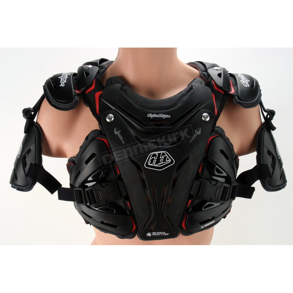 Troy Lee Designs Youth Black CP 5955 Chest Deflector - 503003203