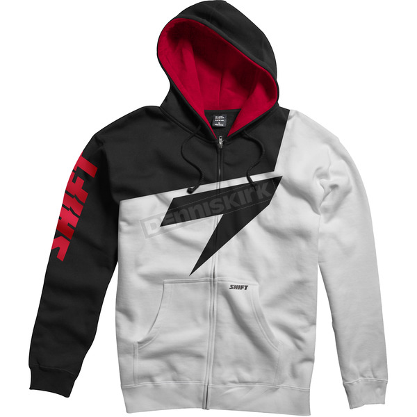 Shift Red/White Replica Fleece Zip Hoody - 45460-054-L