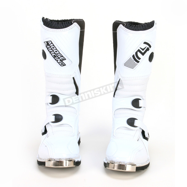 Moose Kids White M1 Boots - 34110248