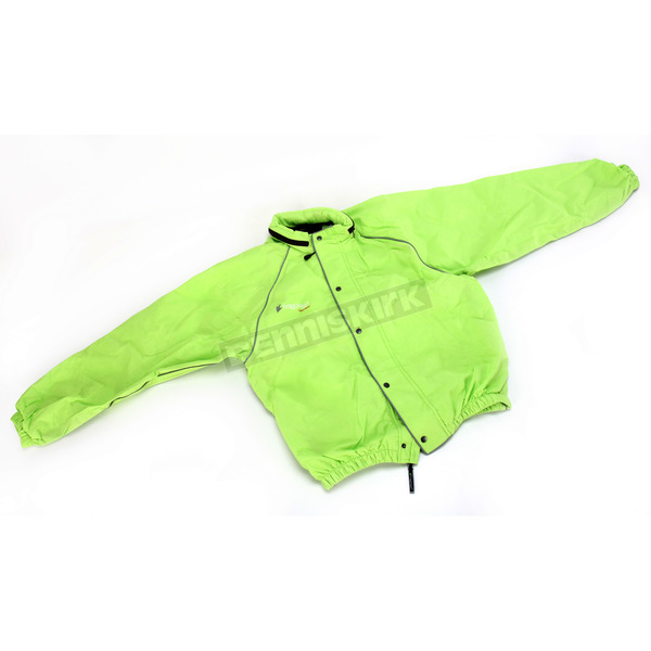 Frogg Toggs Hi-Viz Green Road Toad Rain Jacket - FT63132-482X