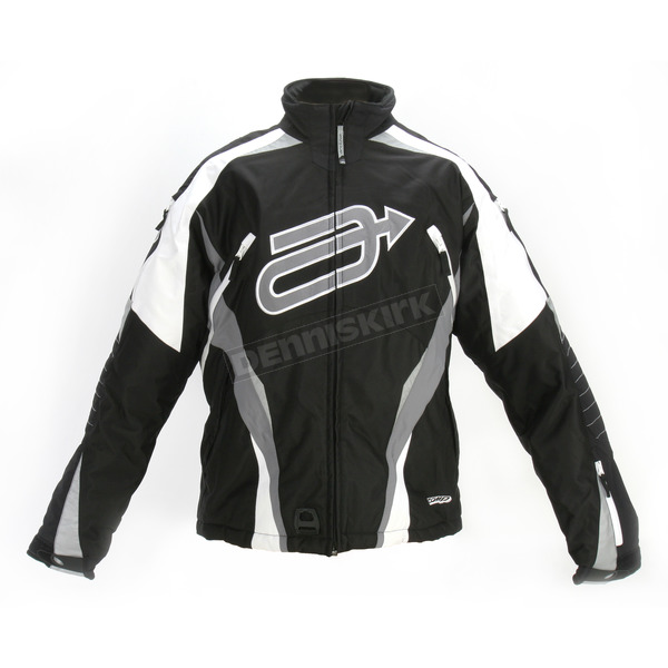 Arctiva Black/Gray Comp 7 Jacket - 3120-0947
