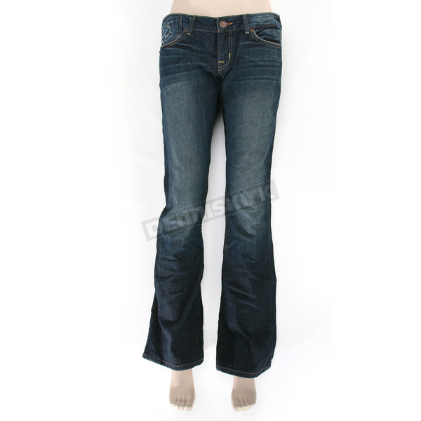 Fox Womens Dark Vintage Silencer Jeans - 01579-564-0