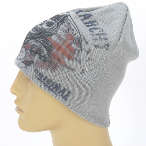 Sons of Anarchy Gray SOA Beanie -