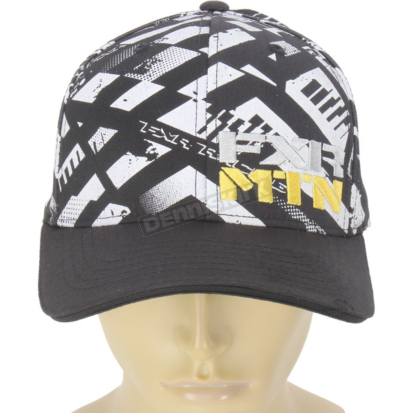 FXR Racing Black/Yellow/White Boondocker RRS Edition Vapour Hat - 14700.62015