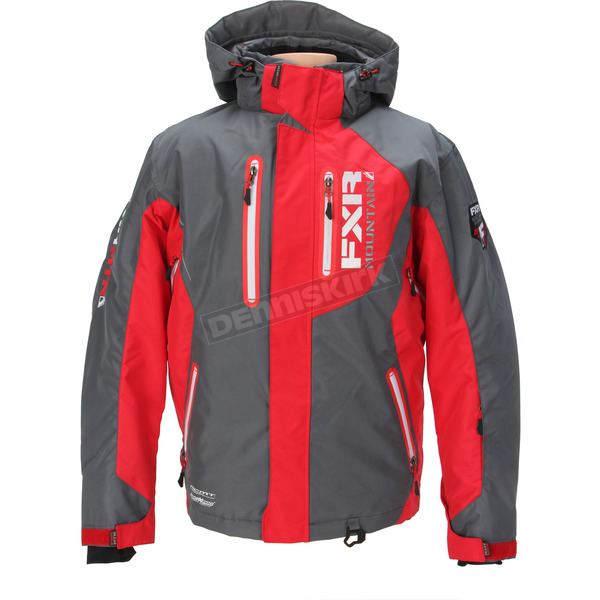 FXR Racing Red/Charcoal Recoil Jacket - 14106