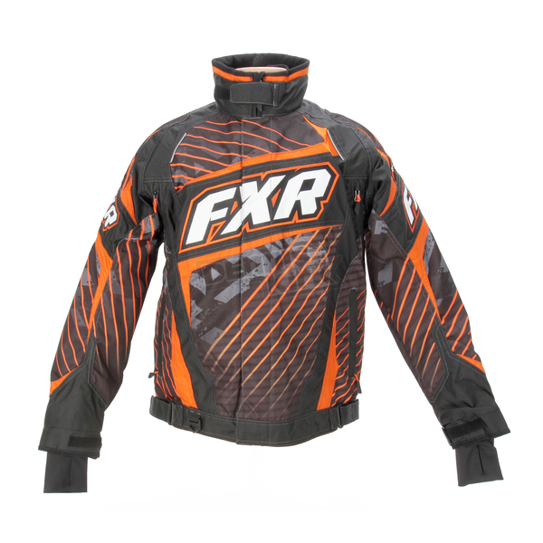 FXR Racing Orange Echo Helix Jacket - 14115.30113