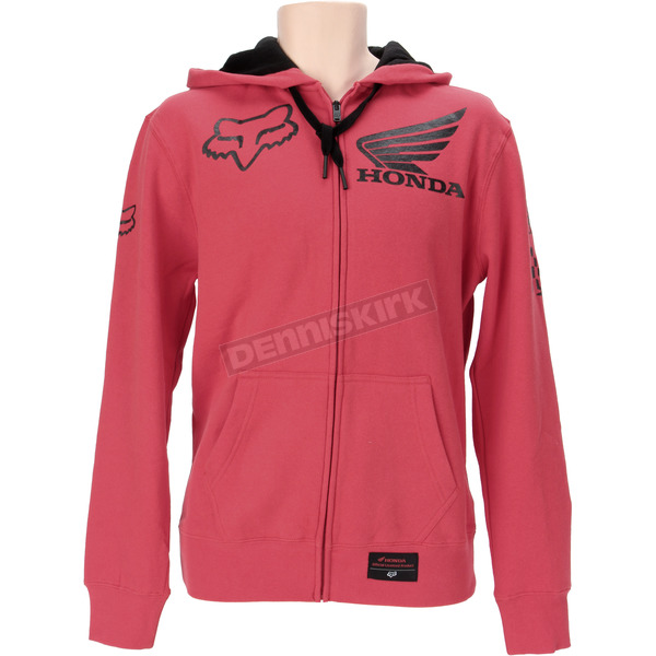 Fox Honda Red Zip Hoody - 09464-003-L