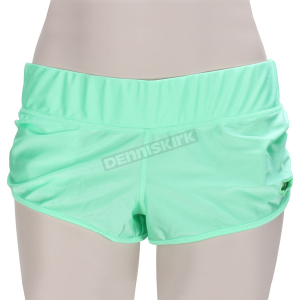 Fox Womens Moto Mint Chroma Shorts - 08581-630-M