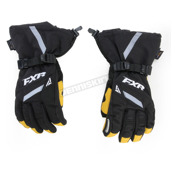 FXR Racing Black Backshift Gloves - 15608.10013