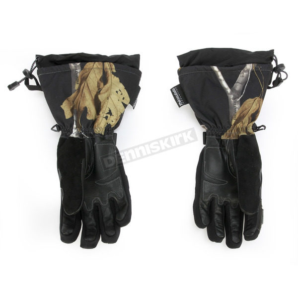 FXR Racing AP Black Camo Fuel Gloves - 15606.13319