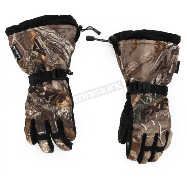 FXR Racing Womens Realtree Camo Fusion Gloves - 15614.33307