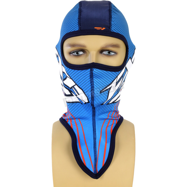 FXR Racing Blue/Orange Turbo Balaclava - 15730.40300