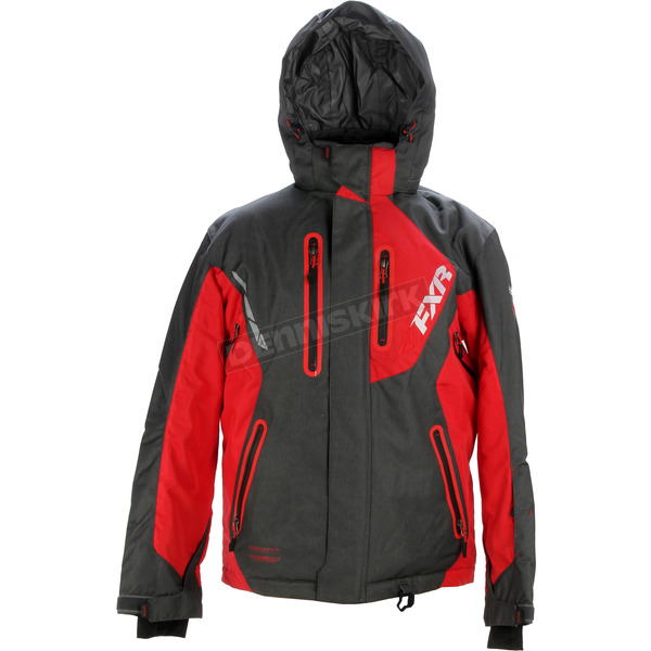 FXR Racing Charcoal/Red Recoil Jacket - 15109.50107