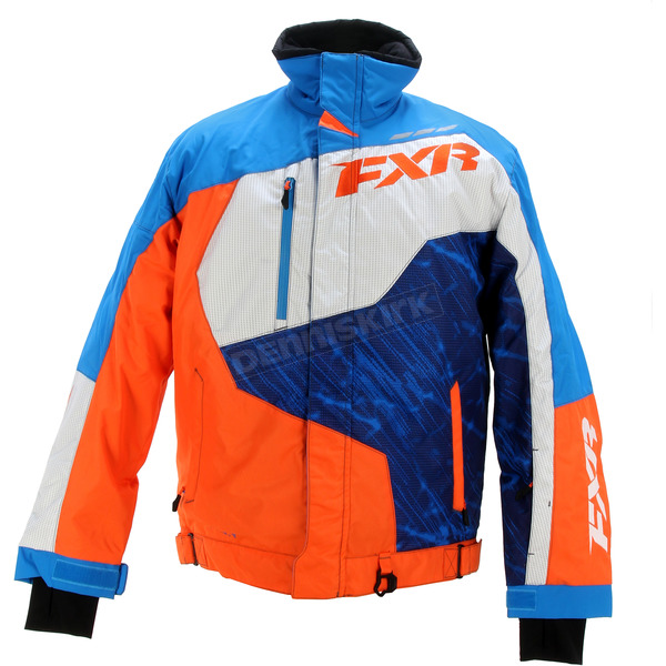 FXR Racing Blue/Orange Turbo Jacket - 15115.40322