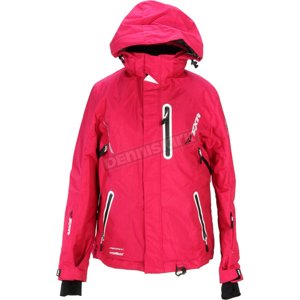 FXR Racing Womens Fuchsia Pulse Jacket - 15207.90006