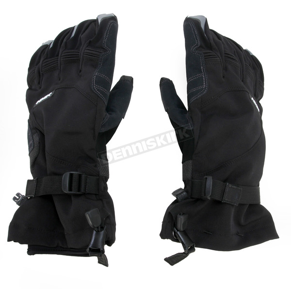 HMK Black Union Long Gloves - HM7GUNILB3X