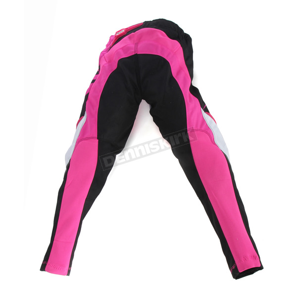 MSR Racing Youth Black/Pink Starlet Pants - 352403