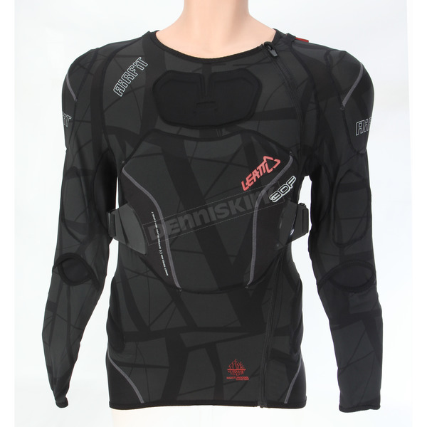 Leatt Black 3DF AirFit Body Protector - 5014101212