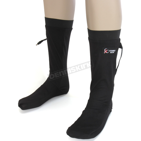 Atomic Skin Black Heated Sock Liner w/Heat Controller - PHG-614-S