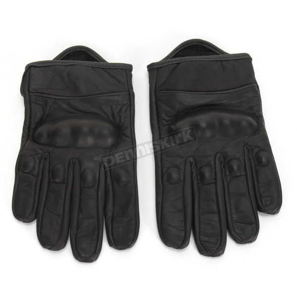 Z1R Black 270 Leather Gloves - 3301-2611