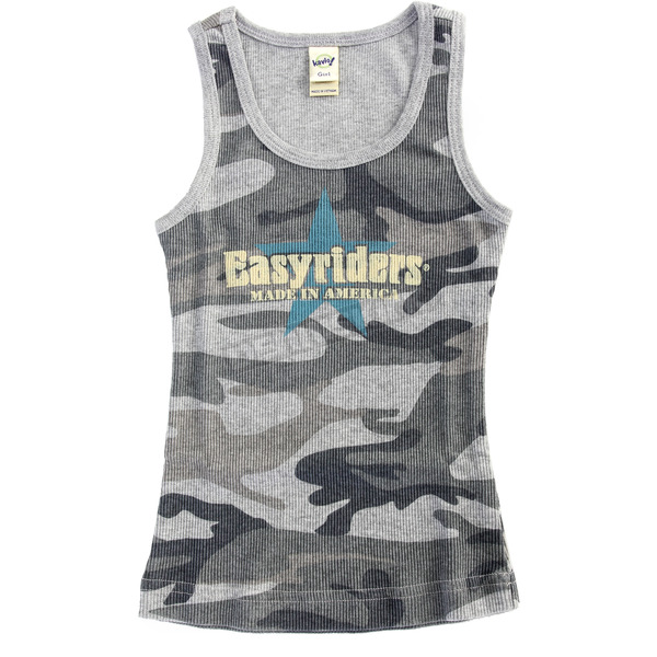 Easyriders Roadware Youth Blue Camo Vintage Star Tank - 6928-4T