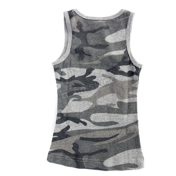 Easyriders Roadware Youth Blue Camo Vintage Star Tank - 6928-5T