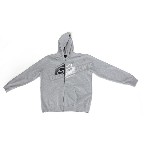 Fox Heather Gray Boot Sector Zip Hoody - 15372-040-M