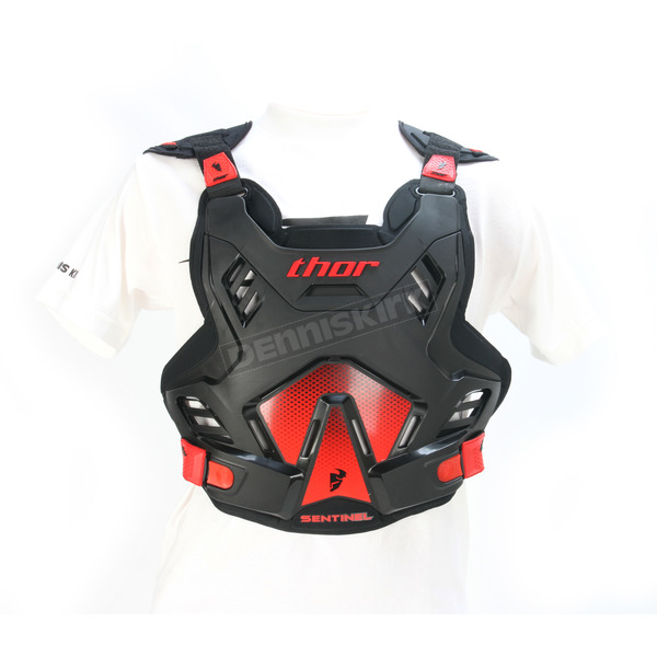 Thor Black/Red Sentinel GP Roost Guard - 2701-0753