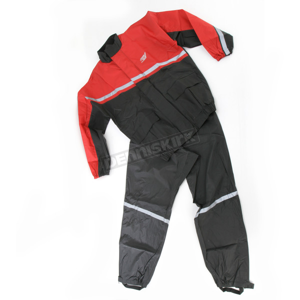 Nelson-Rigg AX-1 2-Piece Rainsuit - AX1RED074X